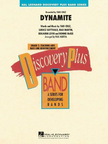 Dynamite (Taio Cruz) - Score & Parts, Grade 2