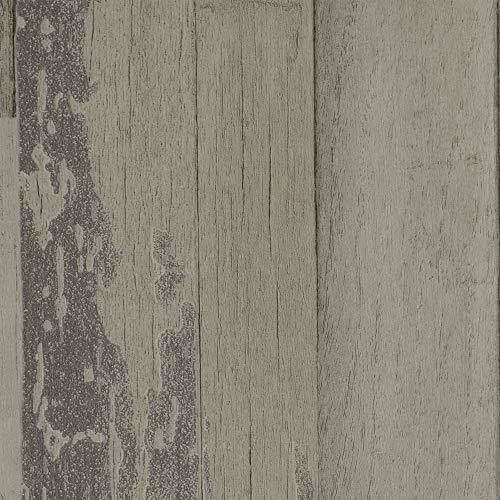 Vinylboden PVC Bodenbelag | Holzoptik Diele Eiche hell-grau | 200, 300 und 400 cm Breite | Meterware | Variante: 2 x 3m