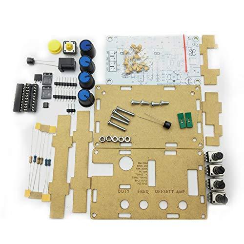 SNOWINSPRING MAX038 Signalgenerator DIY Kit 1Hz-20MHz Funktionsgenerator Hochgeschwindigkeits Operationsverst?Rkergenerator Sinus/Rechteck/S?Gezahn