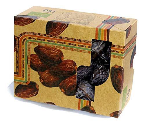 1kg BIO Datteln Medjool getrocknet und mit Stein - naturbelassene Medjool Datteln BIO aus Israel, ohne Zusätze