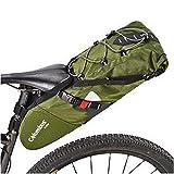COLUMBUS- Saddle Pack Green Bolsa de sillin de 11L