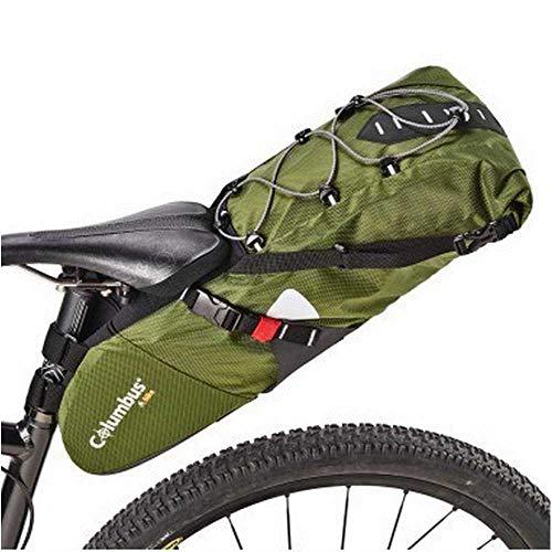 COLUMBUS- Saddle Pack Green Borsa per sellino da 11L