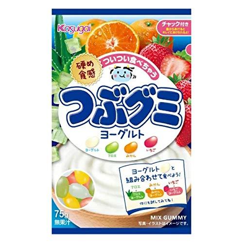 春日井製菓 Jつぶグミヨーグルト 75g ×6袋