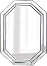 YUNTAO Simple Bright Mirror Makeup Mirror Decorative Hanging Vanity Mirror for Bedroom,Gold Bright Explosion-Proof Hanging...