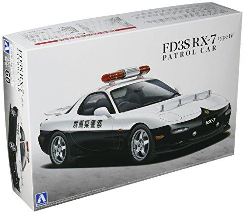 1/24 El mejor coche GT No.60 FD3S RX-7-IV tipo coche patrulla