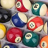 Juego de Bolas de Billar, Bolas de Colores Bolas de Billar 16 Piezas Bola...