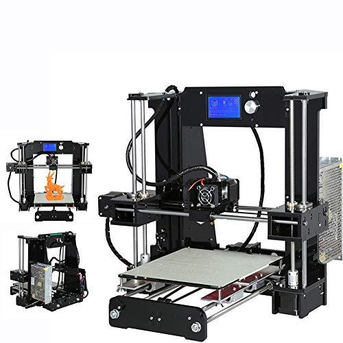 Stampante 3D Stereo per Stampante Domestica Stampante 3D Ad Alta Precisione Tridimensionale, Basso Decibel, Nessun Rumore, Adatto A Tutti I Tipi di Fai-da-Te