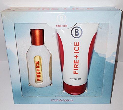 Bogner Fire+Ice femme/woman, Geschenkset (Eau de Toilette, 40 ml + Shower Gel, 150 ml), 1er Pack (1 x 1 Stück)
