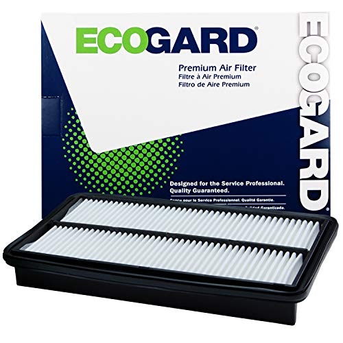 ECOGARD XA5651 Premium Engine Air Filter Fits Honda Odyssey 3.5L 2005-2010, Pilot 3.5L 2009-2015 | Acura MDX 3.7L 2007-2009