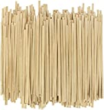 Disposable Wooden Coffee Stirrers - 5.5 Inch Stir Stick (1000, 5.5')