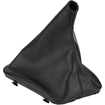 DEALPEAK Rubber Car Gear Shift Dust Cover Shifter Boot Gaiter Replacement for Auto GM350