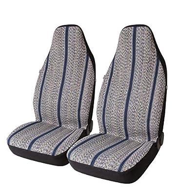 West Coast Auto Baja Blanket Bucket Seat Cover for Car, Truck, Van, SUV - Airbag Compatible (2PCS)