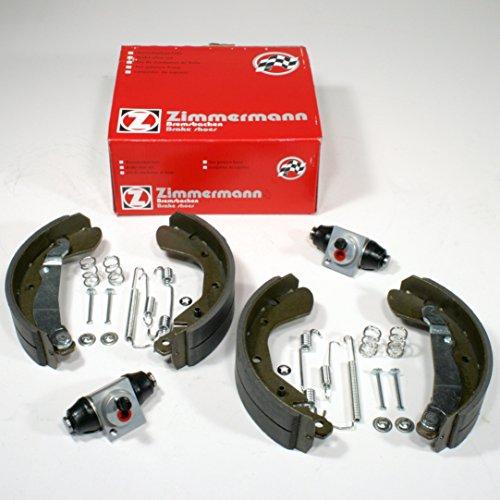 Zimmermann Bremsbacken + Zubehör + Radzylinder für hinten/die Hinterachse