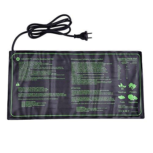 18W Pflanzen Haustier Heizmatte Heizplatte Wärmeplatte Terrarium Anzucht für Sämling 25x 52 cm