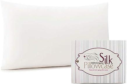 Silk Lady Mulberry Silk Pillowcase 100% Organic - Matte Finish - (Standard Size 20 X 26)