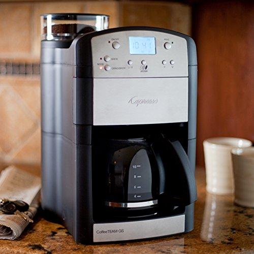 Jura Capresso CoffeeTEAM GS 10 Cup Grind & Brew