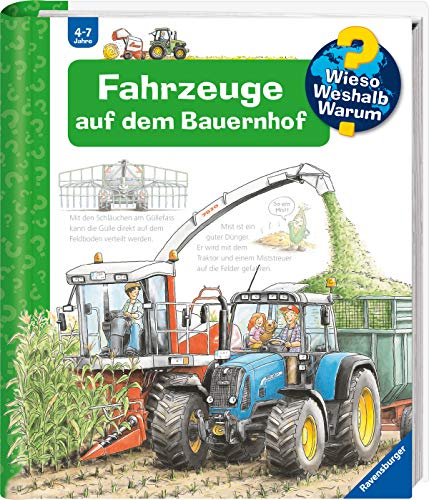 Wieso? Weshalb? Warum? Fahrzeuge auf dem Bauernhof (Band 57) (Wieso? Weshalb? Warum?, 57)