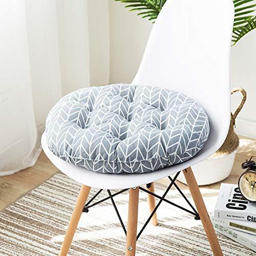 KongEU Sitzkissen für den Innen- und Außenbereich, Schaumstoff, rund, 40/45/50 cm, 2 Stück