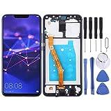 Pantalla de teléfono LCD Pantalla táctil para Huawei Pantalla LCD y digitalizador Asamblea completa con marco para Huawei Mate 20 Lite/Maimang 7 Accesorios para teléfonos móviles (Color: Azul)