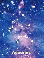 KGCFUNYP ダイヤモンド キット5D DIY ダイヤモンド塗装 ダイヤモンドアート 全面貼り付けタイプ ビーズアート 5D モザイクアート ハンドメイド DIY 手芸キット 星水瓶座 50*60