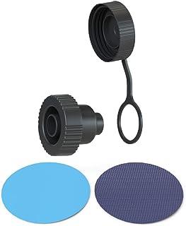 Jasonwell Drain Caps Hose Adapator Foldable Dog Pool