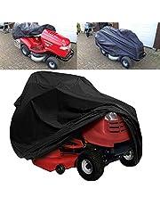 Rijdende grasmaaier Cover Waterdichte Gazon Tractor Cover Waterbestendig Cover voor Ride on Garden Tractor (72 * 44 * 46 inch)
