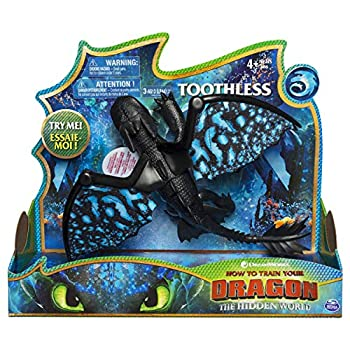 Dreamworks Dragons Toothless Deluxe Dragon with Lights & Sounds for Kids Aged 4 & Up