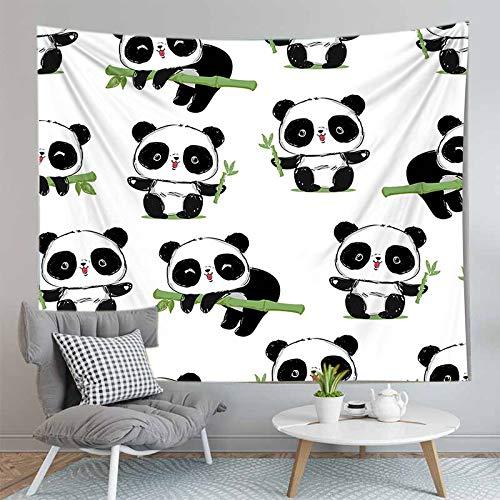 PPOU Serie di animali Design appeso arazzo sfondo panno Boho Decor Wall Cloth A8 73x95cm