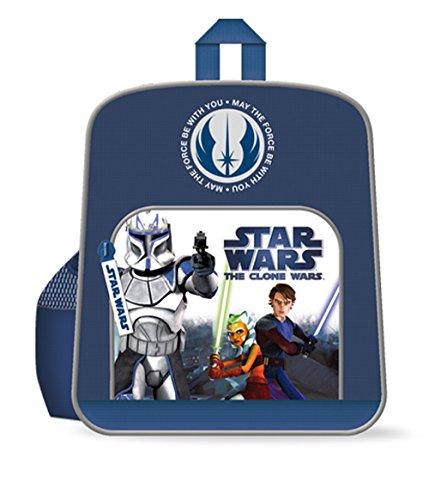 Darth Vaider Rucksack Star Wars Clone Wars Rucksack für Kinder blau