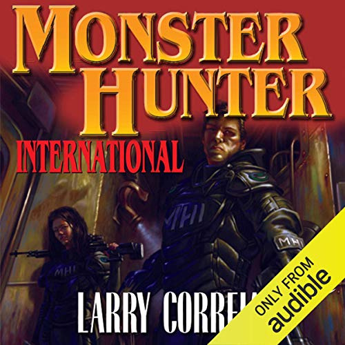 Monster Hunter International  By  cover art