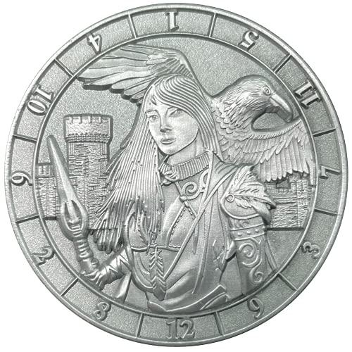 Mythic Nation d12 Morrigan Celtic Goddess RPG Dice Coin