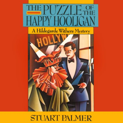 The Puzzle of the Happy Hooligan audiobook cover art
