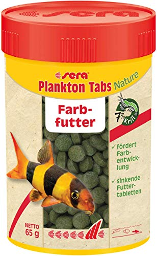 sera Plankton Tabs Nature 100 ml