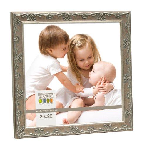 Deknudt Frames S41WD1 15 x 20 cornice grigio argento resina