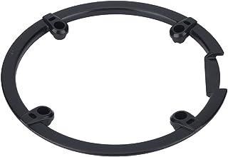 チェーン ホイールカバー クランク セット プロテクター シンプル クランクキャップ 自転車用 保護 ネジ付き プラスチック製 軽量 …