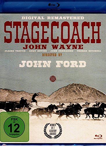 JOHN WAYNE: Stagecoach (Remastered Edition) [Blu-ray]