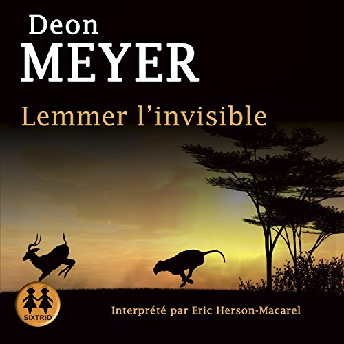 Lemmer l'invisible audiobook cover art