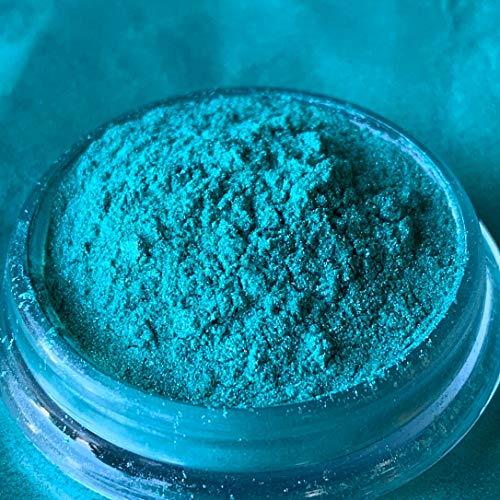 Dipoxy caribbian-sea-Pearl-Blau03 Pigment Farbmittel für Epoxidharz, Polyesterharz, Polyurethan Systeme, Beton, Lacke, Kunstharz Schmuck