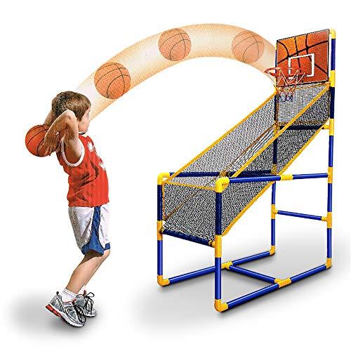 MARXIAO Basketball Kreis Arcade-Spiel, Kinder-Spielzeug Outdoor, Indoor Basketball-Jungen-Geburtstags-Geschenk Mini Indoor Outdoor Startseite Spielzeug