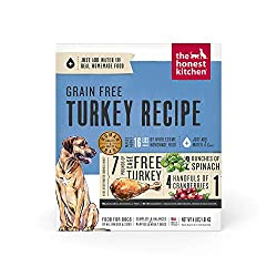 The honest kitchen dog food grain free turkey