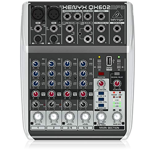 reproductor podcast fabricante Behringer