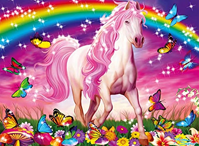 Ravensburger Horse Dreams - 100 Piece Glitter Jigsaw Puzzle for Kids