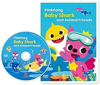 Pinkfong Baby Shark and Animal Friends DVD ピンキッツ ベイビーシャークDVD Baby Shark(サメのかぞく)他全63曲80分収...