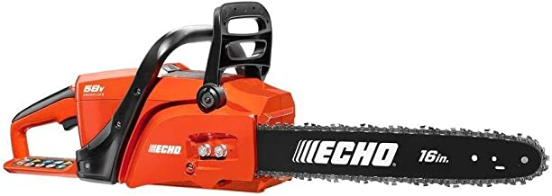ECHO CCS-58VBT 16 in. 58-Volt Lithium-Ion Brushless Cordless Chainsaw - Battery and Charger NOT INCLUDED (Renewed)