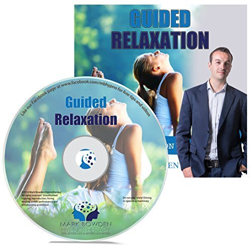 Guided Relaxation Self Hypnosis CD / MP3 and APP (3 IN 1 PURCHASE!) - This Hypnotherapy CD is a Guided Meditation CD for Stress and Anxiety Relief