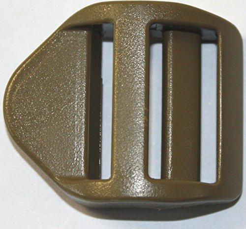 #1533. ITW 25mm Tan Super Ladder Lock per la tessitura tattica militare