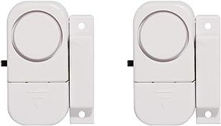 Set van 2 mini-alarmen met contactsensor en waarschuwingssignaal