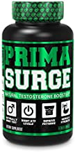 PRIMASURGE Testosterone Booster for Men - Boost Lean Muscle Growth, Strength, Energy & Fat Loss   Natural Test Booster Supplement w/ Premium PrimaVie, Ashwagandha & More - 60 Veggie Pills