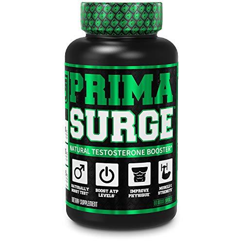 PRIMASURGE Testosterone Booster for Men (60 Veggie Pills)