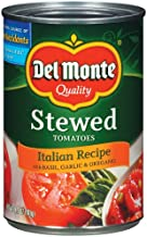 Del Monte Stewed Tomatoes Italian Recipe, 14.5-Ounce (Pack of 8)